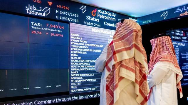 Saudi Arabian Amiantit Co. topped the green territory with 8.37%.