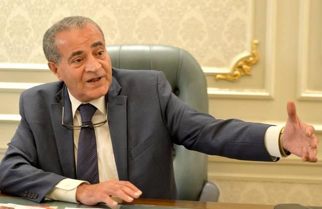 علي المصيلحي وزير التموين المصري