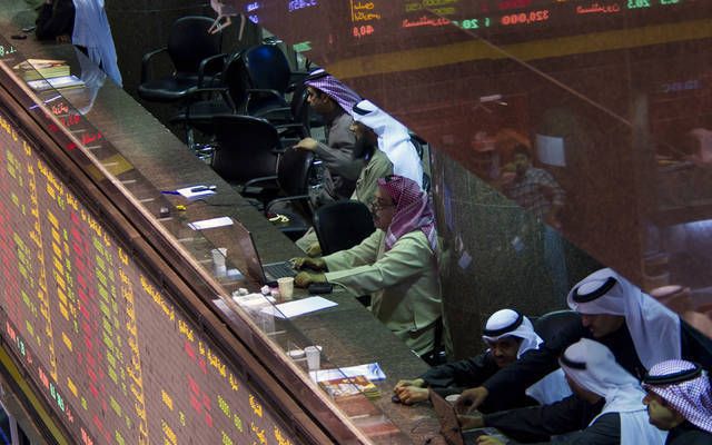 Traders at GCC bourses