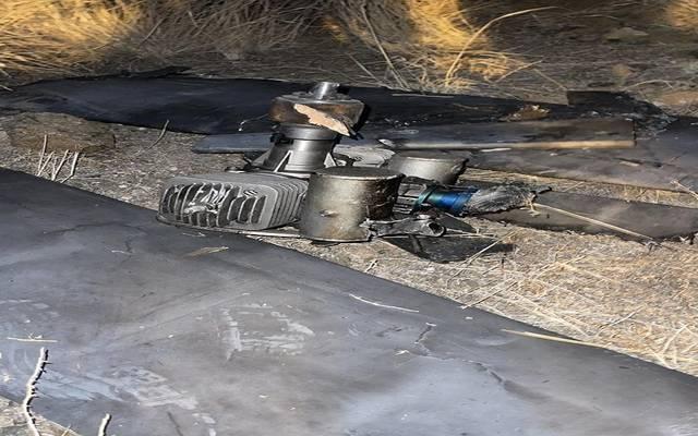 """صورة لتدمير طائرة """"مفخخة"""" - أرشيفية"""