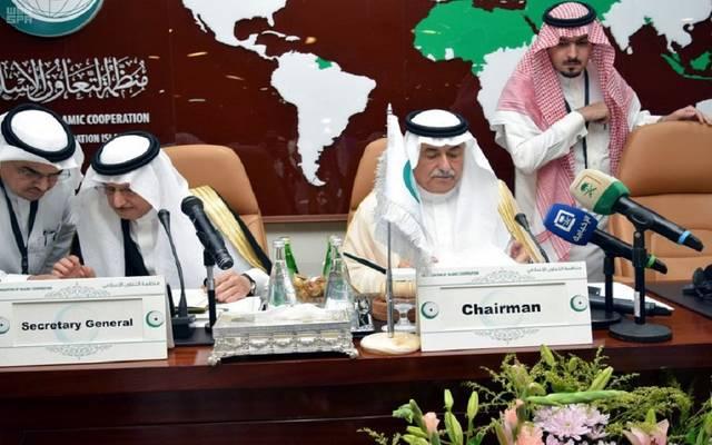 جانب من الاجتماع الاستثنائي لوزراء الخارجية