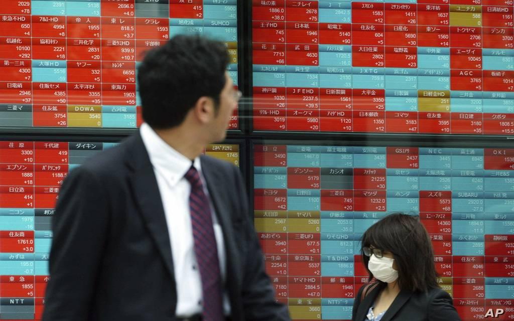"""الأسهم اليابانية تتراجع بالختام وسط استمرار مخاوف """"كورونا"""""""