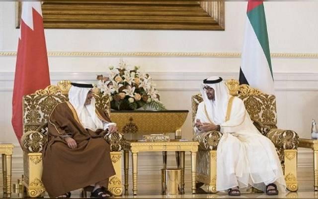 الشيخ محمد بن زايد وولي عهد البحرين - أرشيفية