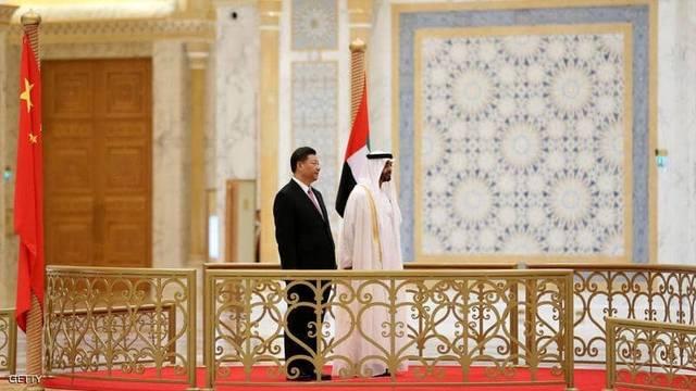 محمد بن زايد يصل إلى الصين في زيارة رسمية