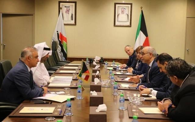 الأردن والكويت يبحثان تعزيز التعاون الاستثماري