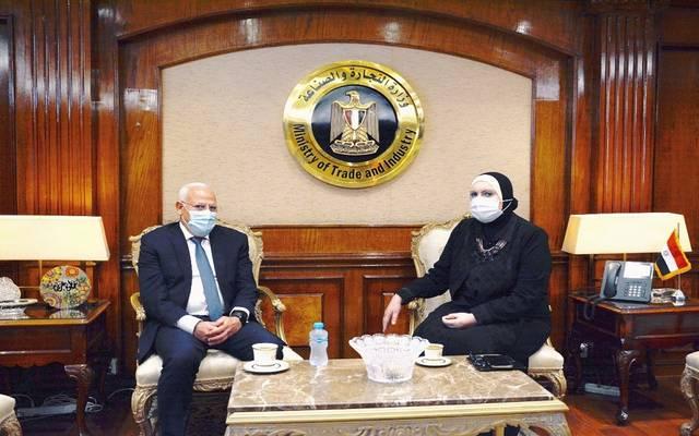 وزيرة التجارة والصناعة المصرية