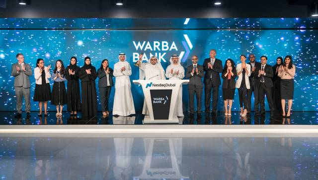This is the second sukuk listing by Warba Bank of Nasdaq Dubai