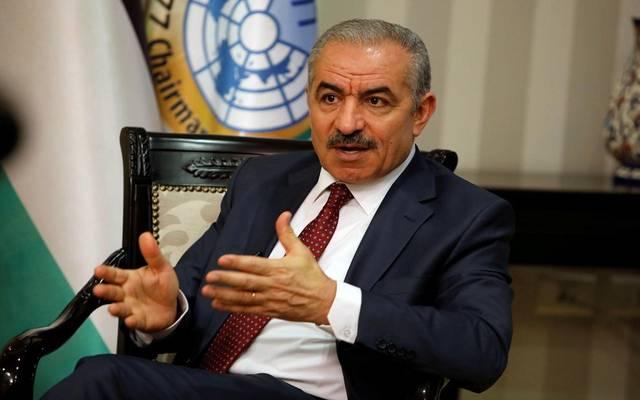 رئيس الوزراء الفلسطيني ، محمد اشتية