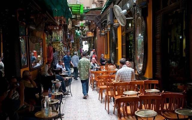 مقهى سياحي في مصر - أرشيفية