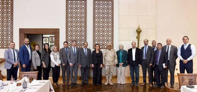 UAEIIC's secretary general was in visit to Egypt