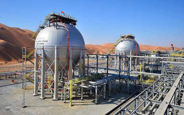 أحد مشاريع الغاز