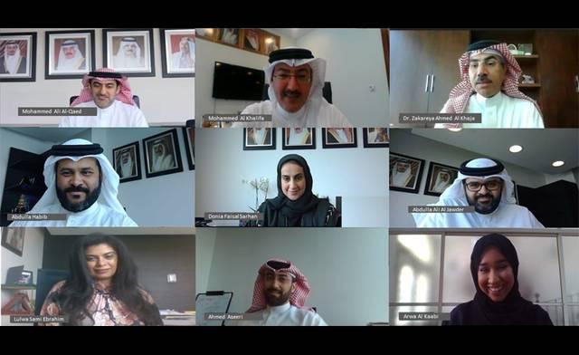جانب من تدشين نظام التراخيص العقارية الإلكترونية في مملكة البحرين