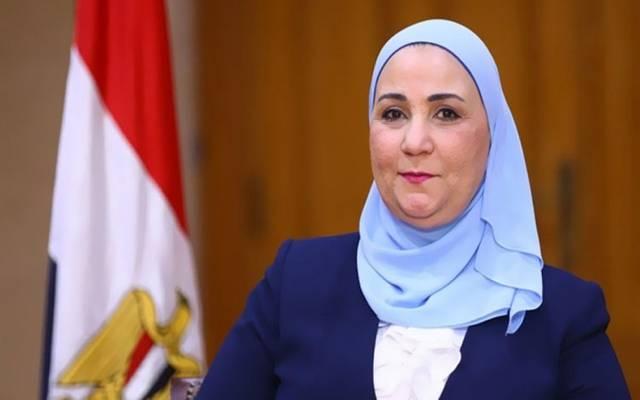 وزيرة التضامن نيفين القباج