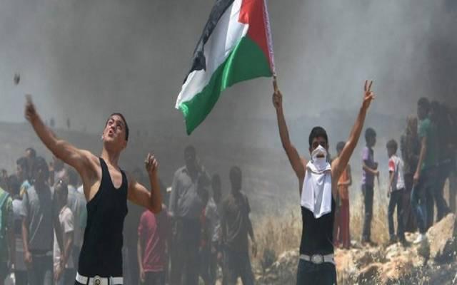 الطفل شادي عبد العزيز محمود عبد العال لقى مصرعه عقب إصابته برصاصة في الرأس أطلقها عليه قناصة الاحتلال