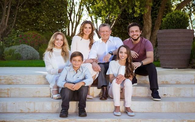 العائلة المالكة في الأردن