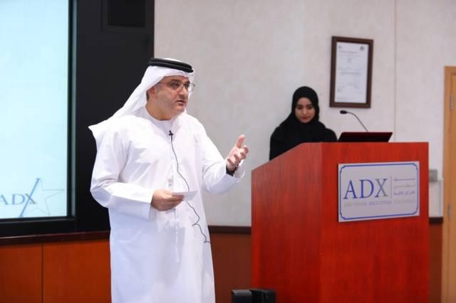 راشد البلوشي الرئيس التنفيذي لسوق أبوظبي للأوراق المالية