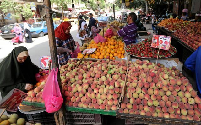 أحد الأسواق المصرية