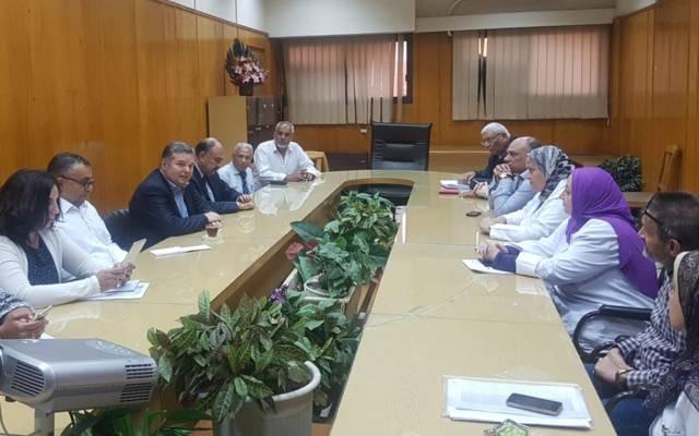 خلال زيارة وزير قطاع الأعمال العام إلى شركتي ممفيس والنيل للأدوية