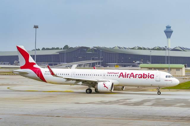 إحدى طائرات شركة العربية للطيران