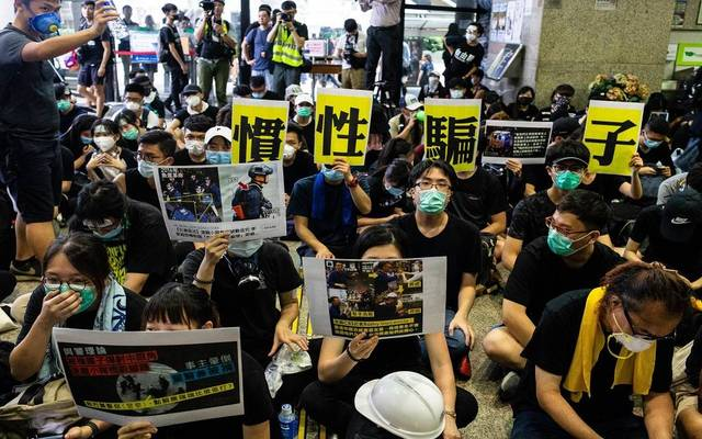 """""""موديز"""" تخفض النظرة المستقبلية لهونج كونج مع استمرار التظاهرات"""