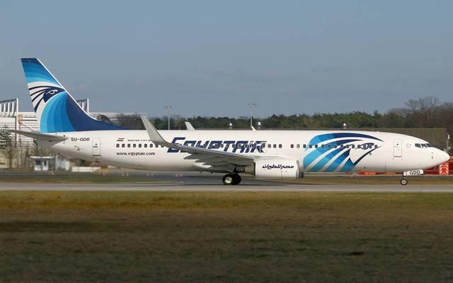طائرة لشركة مصر للطيران