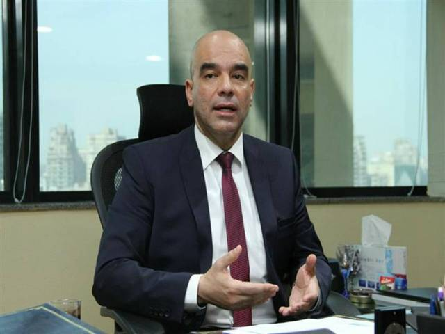 Vice chairman of ABE Tamer Gomaa
