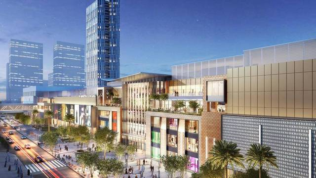 The mall will comprise 500 stores