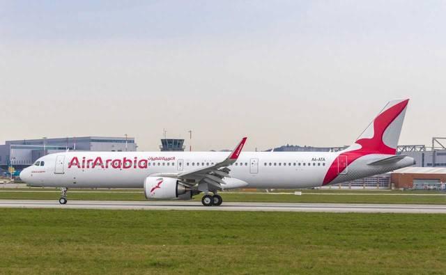 إحدى الطائرات التابعة للعربية للطيران