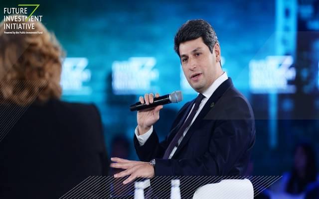 رئيس تمويل الشركات في صندوق الاستثمارات العامة السعودي، علي رضا زعيمي خلال مبادرة مستقبل الاستثمار