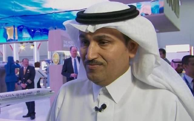"""المدير العام للخطوط الجوية السعودية صالح الجاسر خلال لقائه مع """"سي إن إن"""""""