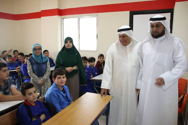 من داخل إحدى المدارس الكويتية