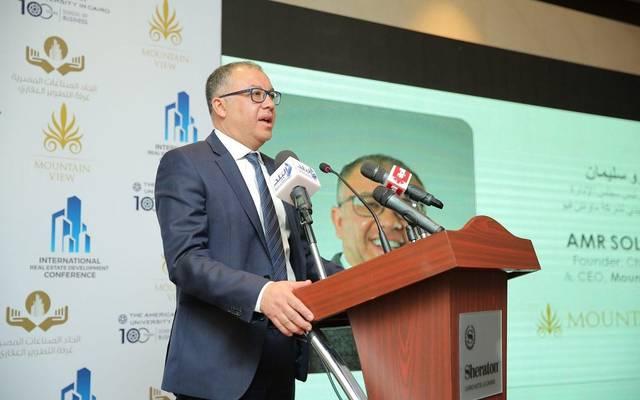 رئيس مجلس إدارة شركة ماونتن فيو للاستثمار العقاري عمرو سليمان