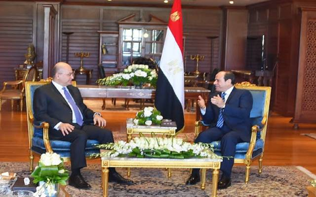 الرئيس السيسي ونظيره العراقي برهم صالح ـ أرشيفية
