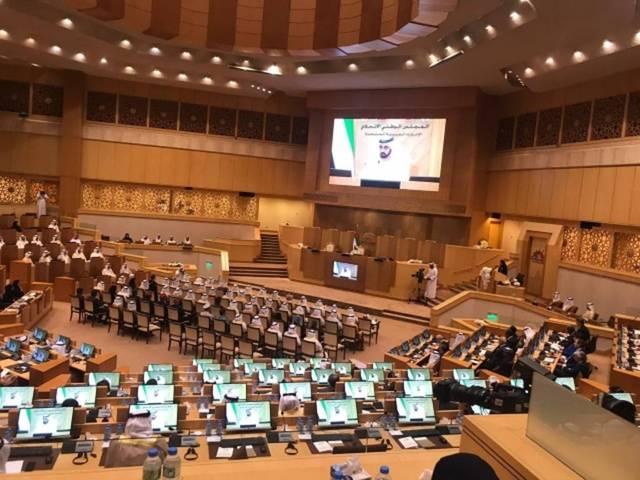 أرشيفية للمجلس الوطني الاتحادي الإماراتي