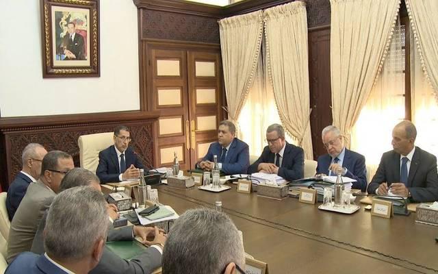 مجلس الوزراء المغربي برئاسة سعد الدين العثماني (أرشيفية)