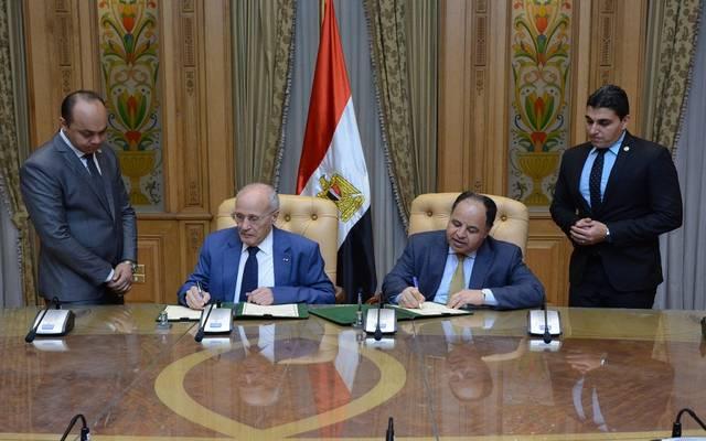 وزير الإنتاج الحربي ووزير المالية المصري