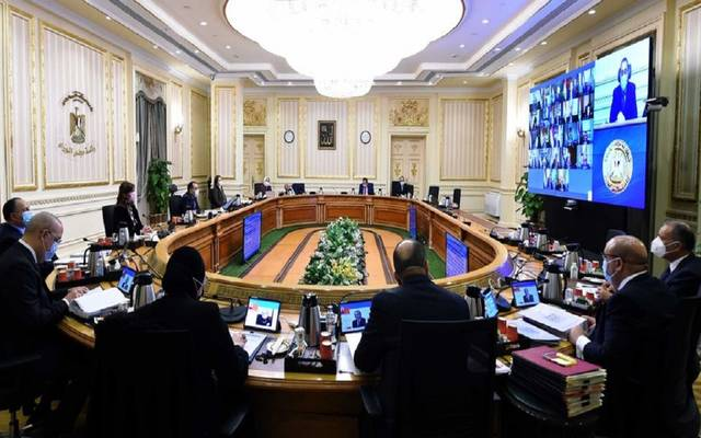 خلال الاجتماع الأسبوعي لمجلس الوزراء المصري اليوم الخميس