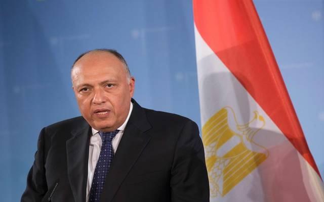 سامح شكري وزير الخارجـية المصري