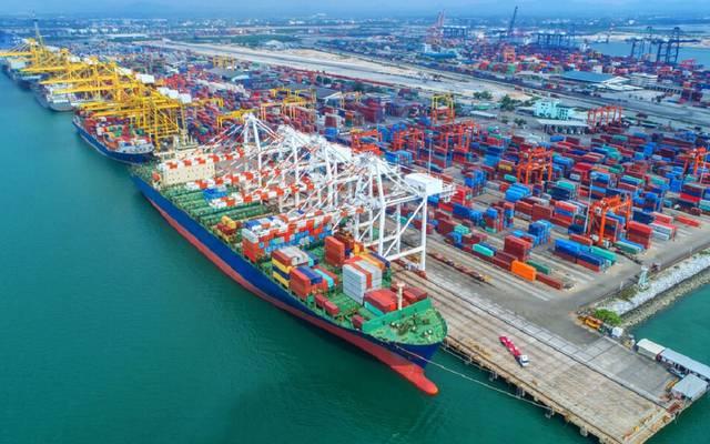 ميناء حمد في دولة قطر