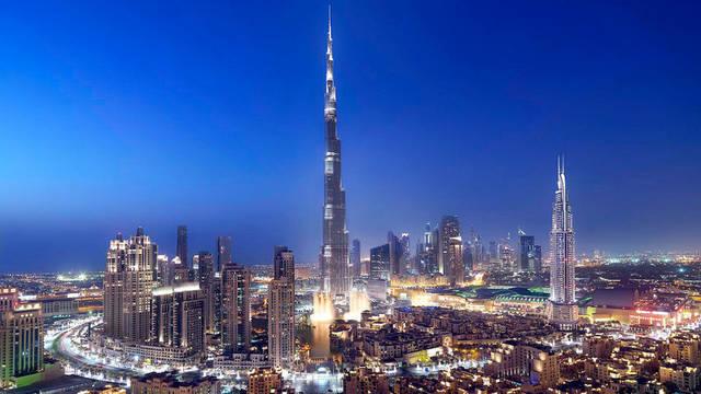 أحد المناطق السياحية بإمارة دبي