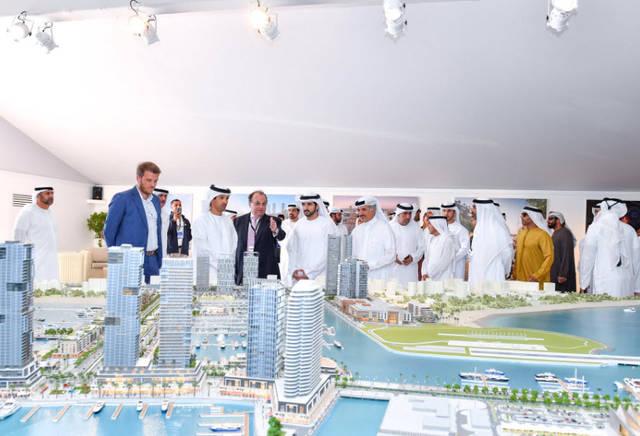 ولي عهد دبي: لدينا استثمارات ضخمة بقطاع السياحة البحرية