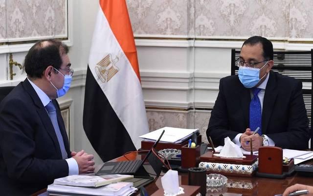 Prime Minister Mostafa Madbouly and Minister of Petroleum Tarek El-Molla