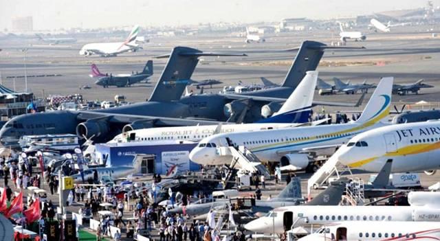 جانب من معرض دبي للطيران
