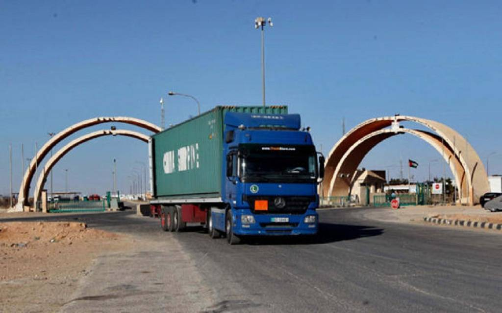 Agency: Jordan and Iraq reached agreement on the transit of commercial trucks 1024