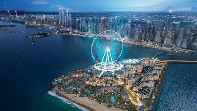 Along with a conference centre, two lavish hotels and a beach club will also be opened in mid-November
