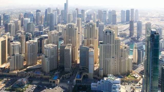 ناطحات سحاب بإمارة دبي، الصورة أرشيفية
