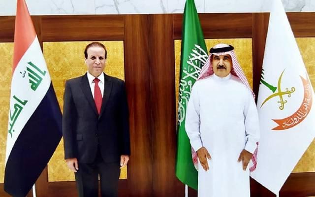 خلال استقبال رئيس جهاز أمن الدولة بالسعودية للسفير العراقي لدى الرياض