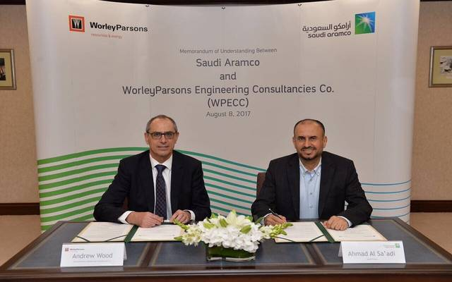 Aramco, Australia's WorleyParsons ink expansion MoU