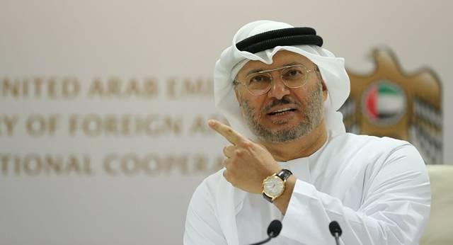 وزير الدولة للشؤون الخارجية الإماراتي أنور قرقاش