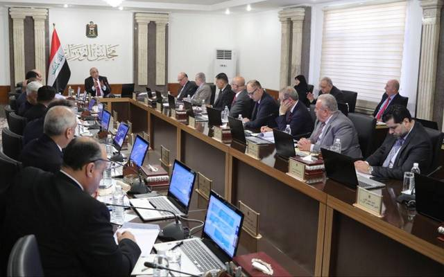 جانب من اجتماع مجلس الزراء العراقي